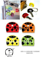 Wholesale retail cute PVC Key Caps Covers Keys Set Easy Colourful Colorful set protector Identifier