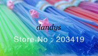 Wholesale glow in dark pc pack color lucky star wish Origami folding strip Straws DIY gift decor