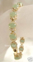 Wholesale new arrive Exquisite Fine Jewellery Natural Jade Bracelet quot fashion jewelry