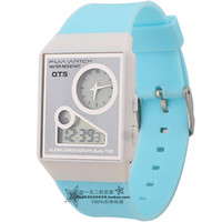 Cheap Chronograph child watch Best Analog-Digital Rubber electronic watch