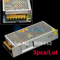 Wholesale 3pcs New V A W Regulated Switching Power Supply for LED Strip Light