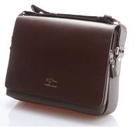 al por mayor men messenger bag-Auténtico Canguro nueva de cuero de los hombres de maletín bolsa de mensajero de los hombres de la moda maletín portafolio shoulde