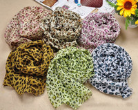 animal print sarong - Factory Price Women Sexy Scarf With Leopard Fashion Scarves Sarongs High Quality Chiffon Printed Scarf