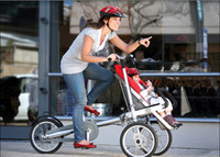 Jogger baby bicycle - 2013 most popular child and mother stroller bike baby and mom bicycle as a gift to friends