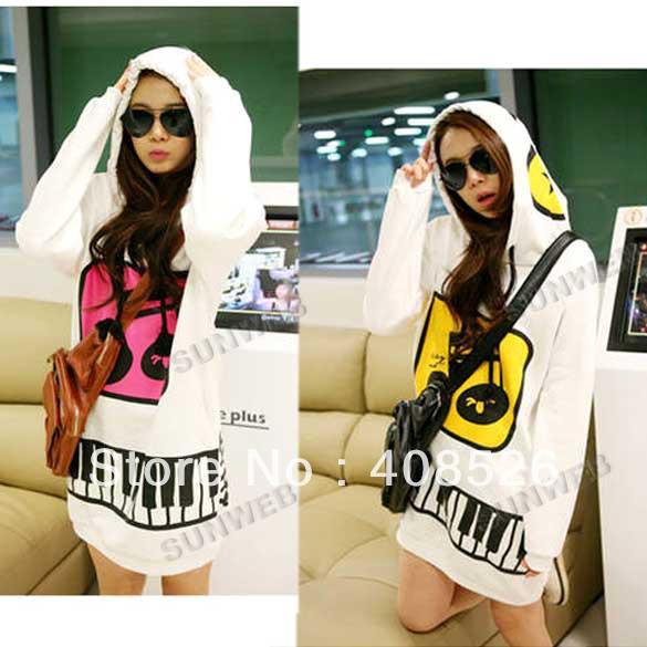 Best Quality Korean Cute Women's Hoodie Pullover Sweatshirt ...
