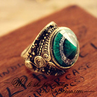 Wholesale Women Vintage Rings Antique Mens Wedding Bands Punk Men Ring
