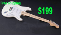 chinese guitars - New Arrival white Electric Guitar SSS Chinese guitar