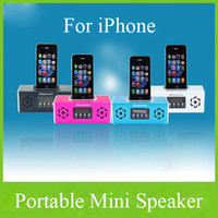 Wholesale Portable Speaker SD Mini MP3 Player TF Card with FM PA Digital Speaker for Iphone for Ipad for Ipod