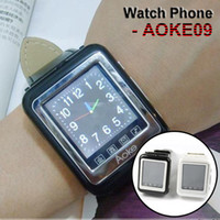 Wholesale AOKE Watch Phone Triband Bluetooth quot Touch Screen FM MP3 Camera