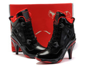Wholesale Women s Black Red Basketball shoes Dress boots Running shoes High Heels Shoes Wedding Bridal shoes