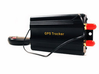 Gps Tracker Windows CE 600MHZ WHOLESALE TK103B GSM GPRS GPS GLOBAL Tracker for Vehicle tracker with remote control 5PCS lot