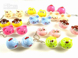 Wholesale new Animal Contact Lens Case animal Lenses Box Color Cute Contact lens case Cartoon Glasses box