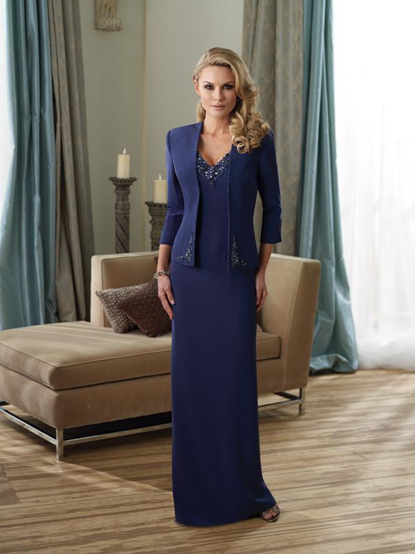 Mother Of The Bride Dresses With Jackets Fall Classic Mother of the