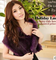 Wholesale Dinner party small formal attire evening purple wool shawls
