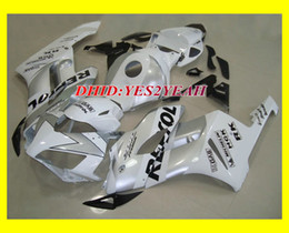 Injection Fairing body kit for HONDA CBR1000RR 2004 2005 CBR 1000 RR CBR 1000RR 04 05 REPSOL White Fairing bodywork +gifts
