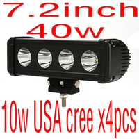Wholesale cheap ship inch w super USA cree x4pcs w led light bar offroad ATV SUV drivng light