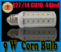 LED Bulb E27 E14 GU10 SMD 5630 44LEDS 9W LED Corn Light Bulb...