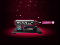 Halloween   sex toy golden gun cannon machine masturbation machine for female machine gun