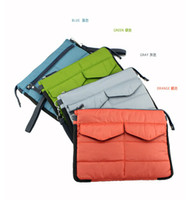 Wholesale South Korea multi function tablet computer bag PC bag green orange blue gray BB0114