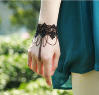 belly dance bangles - Lace bracelet retro wristbands Belly Dance Bracelet Bangle Bridal Fashion Jewelry