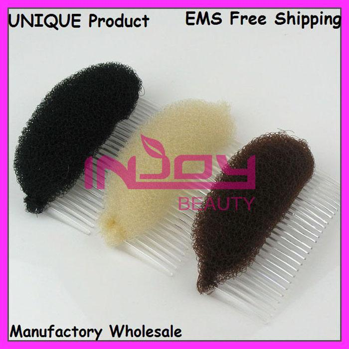 Hair Base Comb Bumpits Hair Volumizing Inserts Hair Pump Beauty Tool Free Shipping 240pcs/lot CPCM09