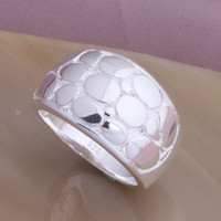 Wholesale hot well sell fashion silver charm new lovely Novel ring jewelry Christmas Best gifts YAR4
