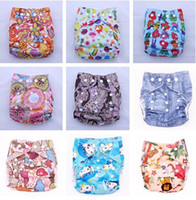 Wholesale Printed Diapers Cloth Diaper Baby Cloth Diaper Reusable Diapers Washable Print diapers Styles
