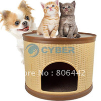 Wholesale New Removable Washable Dismantled Modular Pet House Dog Cage Bed Roomy With comfort pads