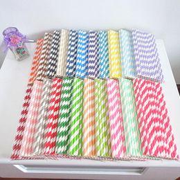 free shipping 3000PCS (25pcs pack) Christmas Set Paper Straws Red Snow Stripe Dot Chevron Star Mix wedding supplies