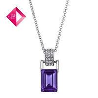 Wholesale Neoglory Crystal K Gold Plated Pendants Long Necklace Female Jewelry Findings