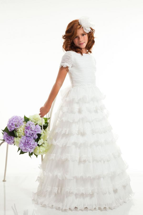 Girls Tulle Dress Modern a