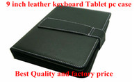 Wholesale 200pcs tablet pc USB Keyboard Leather case for inch Android Allwinner Tablet PC case