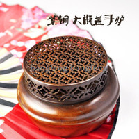 Wholesale Copper Hin Cheung opened light the copper incense smoke pure copper the incense burner ornaments ant