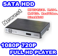 Wholesale Hot P Full Hd Media Player RMVB RM MKV AVI VOB H Inch Sata Hdd Usb Otg Player network