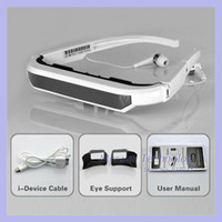Wholesale Newest eyewear inch Virtual Screen display Video Glasses for iPhone iPad Video Eyewear