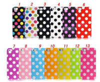 apple iphone 5g price - polka dots Soft TPU Back cover case for apple iphone G Simple Little Dot case Lowest Price