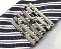 Wholesale 20piece Alloy Mens Tie Clip Fashion Silver Color New arrival Sent at random