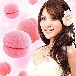 Wholesale E9082 queer ball sponge hair curlers kinkiness ball KE
