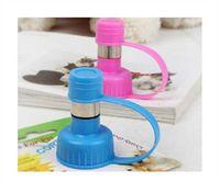 Nursing Bottles Indoor Plastic Pet Cat Puppy Dog Drinking Kit Hanging Water Dispenser Fountain Bottle Head T7234