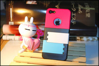 Wholesale For Iphone5 G No Beautiful Blinds Bracket Shell Protection Case