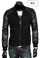 Wholesale 2013 new men s jackets pu leather Korea popular men s outerwear
