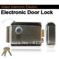 Wholesale Home Stainless Steel Security Door Electronic Door Lock For Video Doorphone Intercom Elock