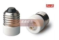 Wholesale New LED Halogen CFL Light Bulb E27 to MR16 Lamp Adapter