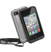 Wholesale Lifeproof Waterproof Case Shockproof Case for iPod Touch th Transparent Black HK Post