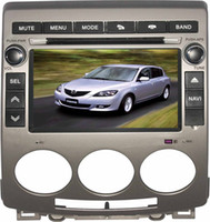 Wholesale Mazda Car DVD Player with GPS Canbus Auto Radio BT TV iPOD USB SD Russian Menu free G card with map