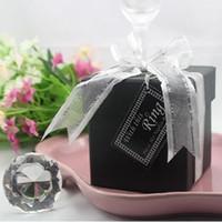 Wedding Table Decoration   Wedding Favors Crystal Diamond Napkin Ring Fashion Bridal Party Shower Gifts