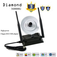 Wholesale Wifi Amplifier Diamond G Adapter With Double Antenna Network Card USB Wireless antenna