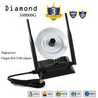 antenna diamond - Wifi Amplifier Diamond G Adapter With Double Antenna Network Card USB Wireless antenna