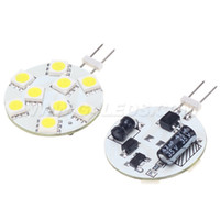 Wholesale Free Shipment Slim Led G4 Boat Light Leds SMD Wide voltage AC DC10 V Dimmable Bin pin White