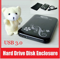 Wholesale Portable USB quot HDD Case Hard Drive SATA External Enclosure Box
